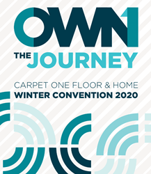Own the Journey Carpet One Floor & Home Winter Convention 2020