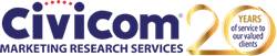 Civicom celebrates 20 years of service in the marketing research service industry in 2020