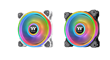 Thermaltake Launches Riing Quad 120mm and 140mm RGB Radiator Fans with NeonMaker Light Editing Software at CES 2020