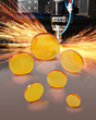 Laser Research ZnSe Focusing Lenses for Steel Cutting Lasers Match Customer Application Requirements