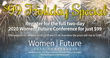 Call for Speakers and Topics Issued for Third-Annual Women|Future Conference
