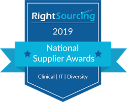RightSourcing Supplier Awards logo