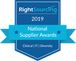 Vendor-Neutral Workforce Solutions Leader, RightSourcing, Announces 2019 National Supplier Award Recipients