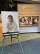 """Books, Not Bullets,"" Is Malala Yousafzai's Message to World Leaders - Discover More about Her Fearless Journey at  The Children's Museum of Indianapolis"