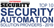 "Refactr Named Amongst ""Top 10 Security Automation Solution Providers - 2019"" by Enterprise Security Magazine"