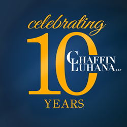 Chaffin Luhana Celebrates 10 Years of Service