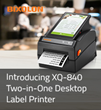 Introducing the BIXOLON XQ-840 Android Tablet Embedded Desktop Label Printer