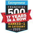 Cruise Planners Ranked 'No. 1 Travel Franchise' for 17 Years in a Row in Entrepreneur's Highly Competitive Annual Franchise 500®