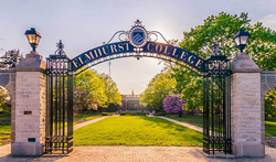 Elmhurst College in Illinois, home of the coed Nike  Cross Country Running Camps this summer.
