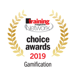 Paradigm Learning Named Training Magazine Network Choice Award Winner for Gamification