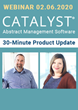 Omnipress to unveil CATALYST product updates in upcoming webinar
