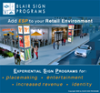 BLAIR SIGN PROGRAMS Announces Development of ESP (Experiential Sign Program) for national retail stores and developers