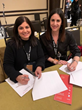 Manitoba Film & Music CEO/Film Commissioner Rachel Rusen Margolis (Right) signs MOU licensing Reel Green™ from Creative BC CEO Prem Gill (Left).