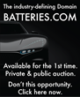 "Premium Domain ""Batteries.com"" To Be Sold at Auction by Brannans.com Domain Name Auction Service"