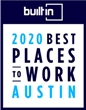 Personify Named as a 2020 Best Place to Work by Built in Austin