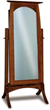 Hidden Jewelry Compartment in Cheval Mirror from Brandenberry Amish Furniture
