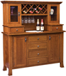 Old Century Wine Hutch from Weaver Furniture Sales – Wine Connoisseur's Dream