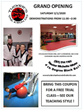 Grand Opening of Martial Arts Studio Owned and Operated by National Champion USAT Taekwondo Female