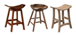 New Backless Barstools from Brandenberry Redefine Amish Furniture