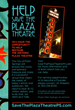 Promotional Ad - Help Save the Plaza Theatre