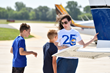 2.2 MILLION kids have now discovered aviation free of charge through EAA Young Eagles program