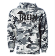 New Jersey gym, Iron Culture, has officially released its white camo hoodie, which can be found on its new online store.