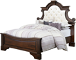 Exquisite Scrolling and Tufting Highlight the New Francine Hardwood Bed from Weaver Furniture Sales