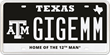 My Plates Debuts Two NEW Texas A&M University License Plates Designs
