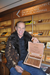 Daniel Marshall Cigar Lounge Kitzbuhel Country Club with DM Fuente XXXVIII Cigars