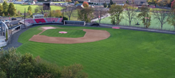 Newly renovated baseball facilities at Fairfield University in Connecticut.
