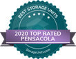 StorageUnits.com Names Top Storage Facilities in Pensacola, FL for 2020