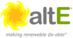 altE logo and motto