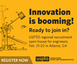 United States Patent & Trademark Office (USPTO) hosting a job fair in Atlanta, GA on February 21st - February 22nd. USPTO is hiring hundreds of new examiners in 2020