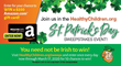 HealthyChildren.org Celebrates St. Patrick's Day with 10-day Sweepstakes Event