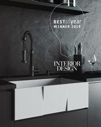 Vigo Matte Stone Farmhouse Kitchen Sink Collection Wins Interior Design Award