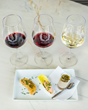 Customized to complement ZD Wines, the pairings include a savory selection of salmon or duck rillettes, local artisanal cheeses, a sampling of custom Kollar Chocolates, or a food pairing trio.