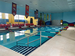 Aqua-Tots Swim Schools Al Manar is ready for children of all abilities to learn how to swim safely in their state-of-the-art facility and year-round, 90° pool.