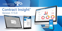 CobbleStone Contract Insight 17.5.0 Contract Management Software
