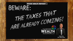 graphic about taxes from Chuck Oliver and The Hidden Wealth Solution