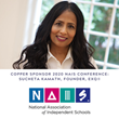 Sucheta Kamath, CEO & Founder of ExQ®, a new Executive Function Curriculum, Sponsors the 2020 National Association of Independent Schools Annual Conference Feb 26–28
