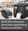 BIXOLON to Showcase Brand-New Label Printing Solutions at MODEX 2020