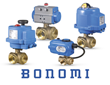 Bonomi Introduces NSF-Approved Lead-Free Three-Way Brass Ball Valve Packages with Electric or Pneumatic Actuators