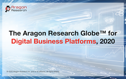 Aragon Reveals The Aragon Research Globe™ for Digital Business Platforms, 2020.