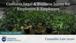 "Financial Poise™ Announces ""Cannabis Legal & Business Issues for Employers & Employees"" a New Webinar Premiering April 22nd at 1:00 PM CST through West LegalEdcenter™"