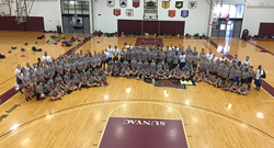 This co-ed overnight basketball camp in Potsdam, NY allows campers to experience what it is like to be a collegiate student athlete.