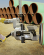 Esco MILLHOG® Commander I.D. Clamping Pipe Beveling Machine Does Heavy-Wall Pipe Fit Up On-Site