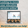 World Education offers online testing services to all education institutions