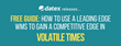 "Datex Releases Guide ""How to Use a Leading Edge WMS to Gain a Competitive Edge in Volatile Times"""
