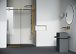 VIGO Becomes the First Brand to Bring Matte Brushed Gold Finished Shower Doors to the US Market