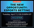 Cynopsis Announces New Webinar on Esports Betting on April 7